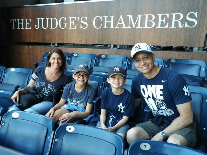 Orthodontist-Doug-Palaganas-and-Family-Yankees